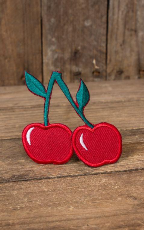 Aufnäher Very Sweet Cherries | Kirschen