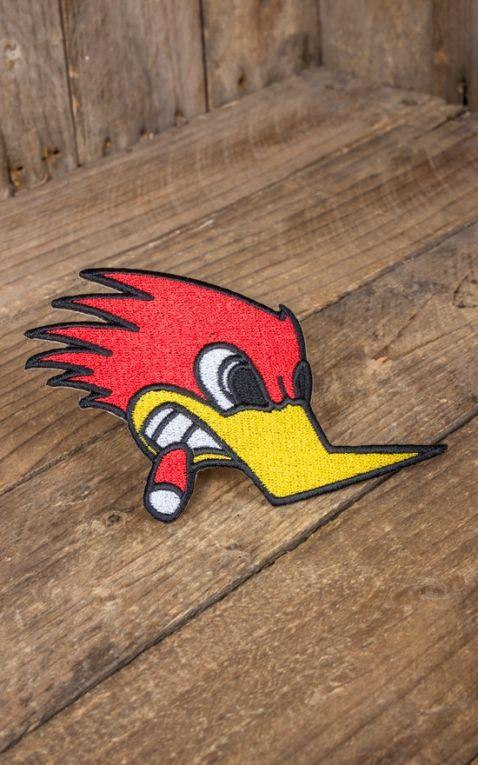 Aufnäher - Woody Woodpecker | Mr. Horsepower