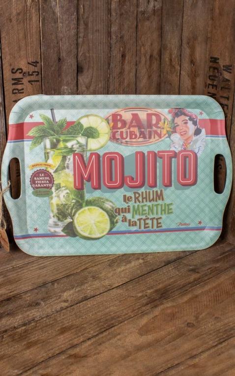 Bamboo tray Mojito