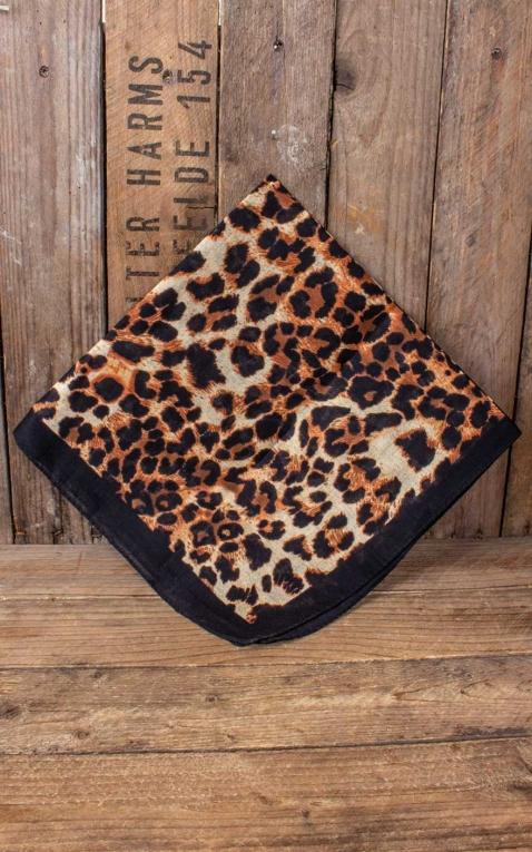 Bandana mit Leopardenmuster