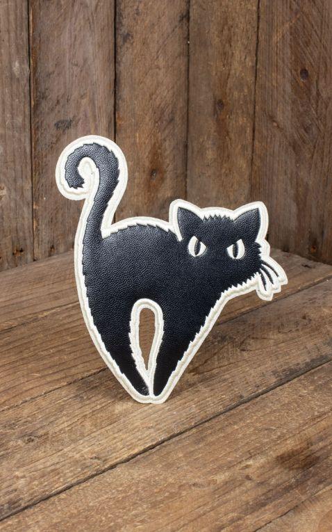Banned Aufnäher Schwarze Katze | Black Cat