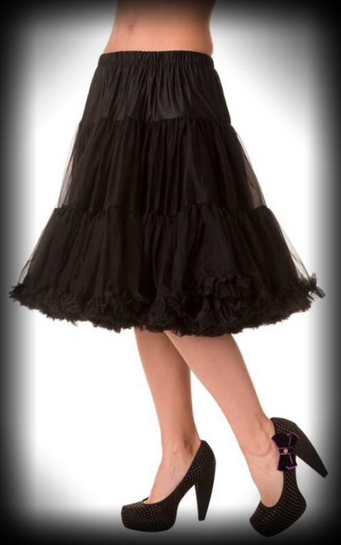 Petticoat lang Rockabella - schwarzPetticoat lang Rockabella - schwarz ...