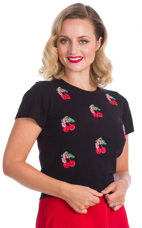 Banned Pullover Cerises | Cherry Berry