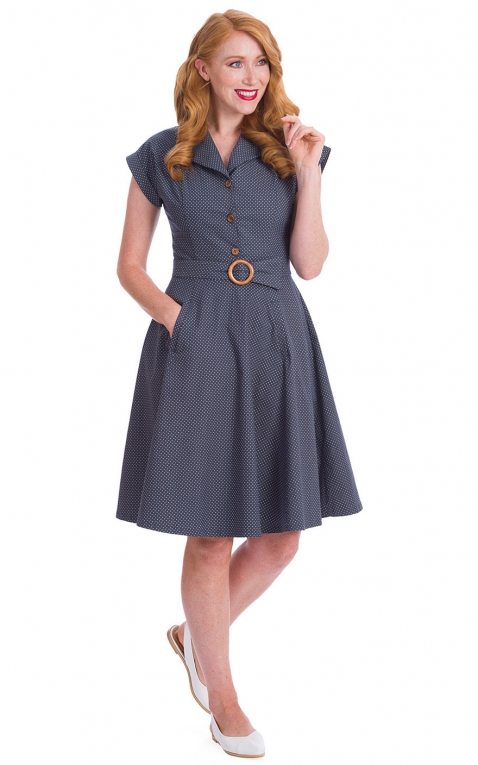 Banned Swingkleid Spot Perfection Fit and Flare