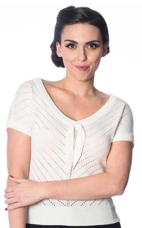 Banned - Top en tricot Patricia Piontelle