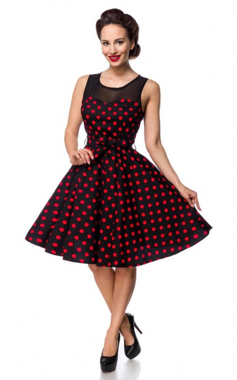 Belsira - Polkadot Swing Dress Audrey