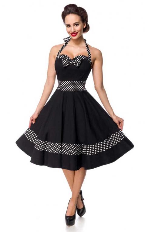 Belsira - Polkadot Neckholder Swing Dress Bettie