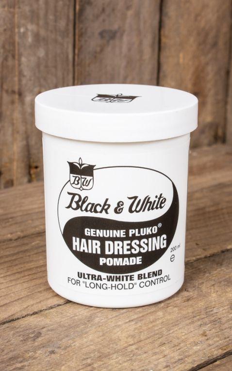 Black & White Hair Dressing Pomade