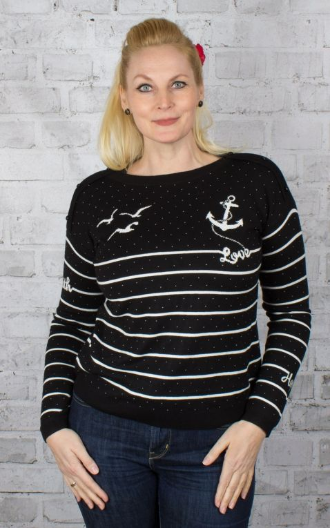 Blutsgeschwister Seaside Cottage Sweater, Sailors Passion