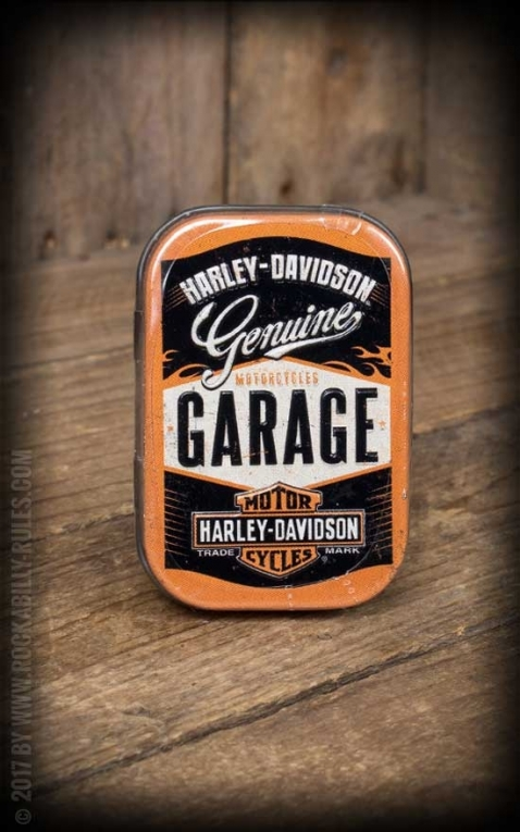 bonbondose harley davidson garage rockabilly rules. Black Bedroom Furniture Sets. Home Design Ideas