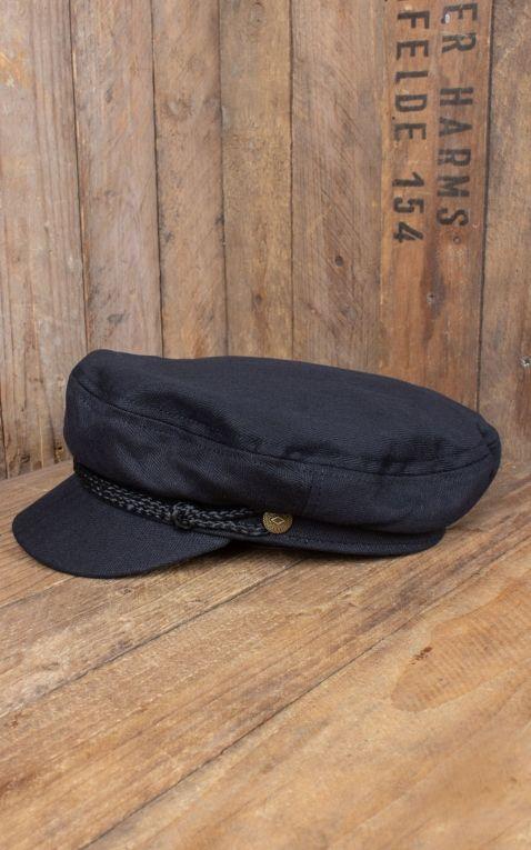 Brixton Fiddler Cap, schwarz