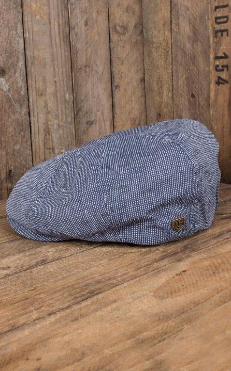 Brixton Brood Snap Cap, marineblau offwhite