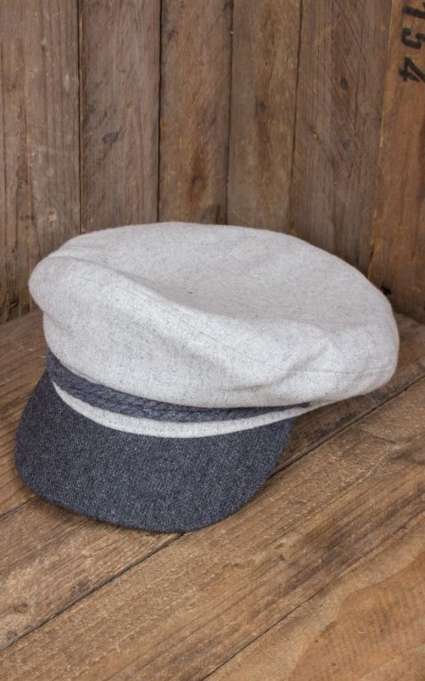 Casquette Brixton - Fiddler, dove charcoal