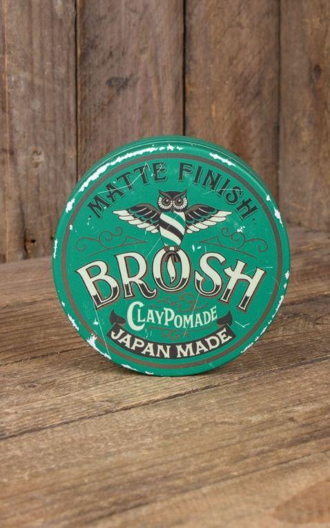 Brosh Clay Pomade Matte Finish