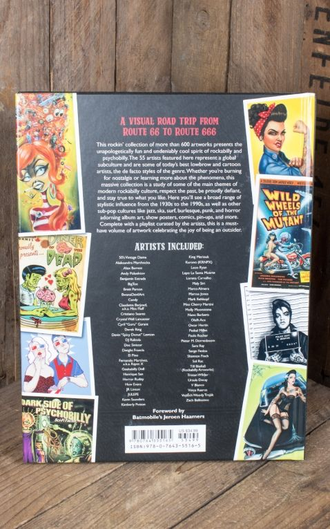 Buch Rockabilly Psychobilly - An Art Anthology