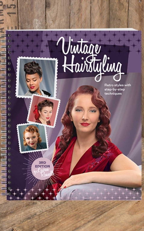 Book Vintage Hairstyling - by Lauren Rennells, 3rd Edition
