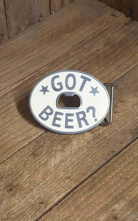 Buckle - Got Beer Flaschenöffner