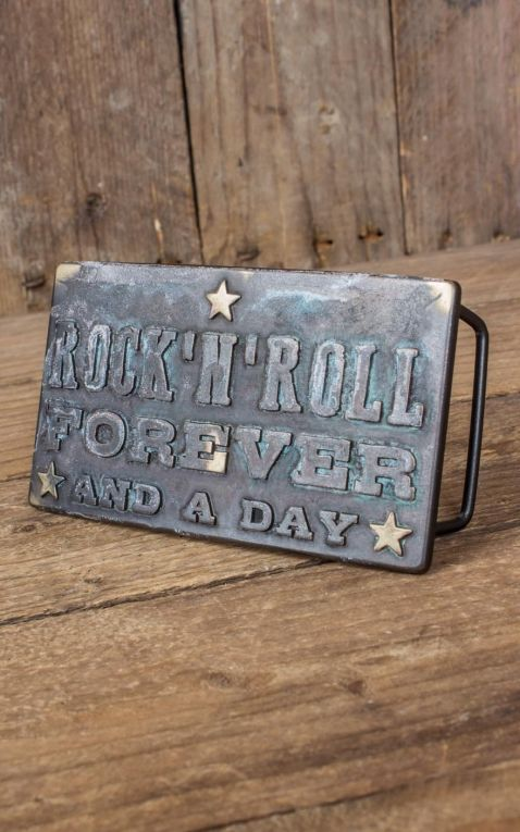 Rumble59 - Buckle RocknRoll Forever - Vintage Patina