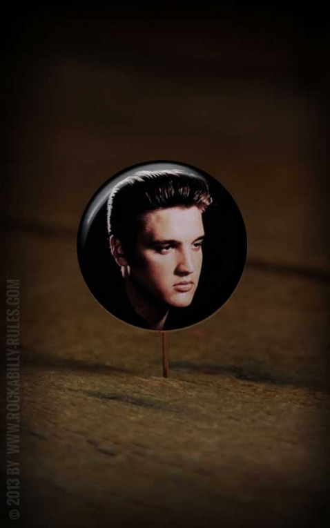 Button Elvis 001
