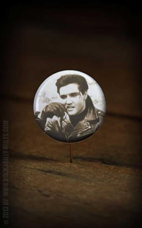 Button Elvis 003