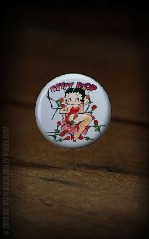 Button Betty Boop 124