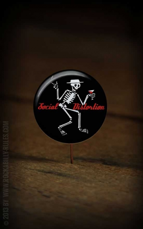 Button Social Distortion 133
