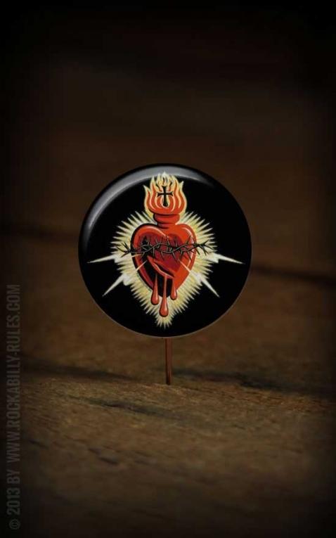 Button Bleading Heart 141