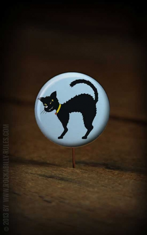 Button Blue Cat2 148
