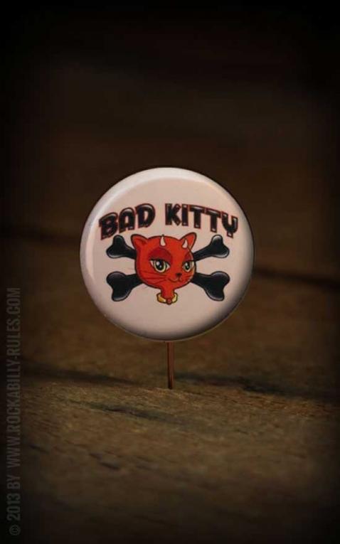Button Bad Kitty 149