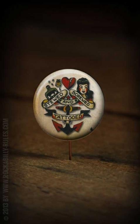 Button Sailor Jerry 175