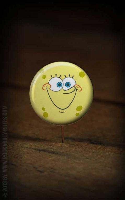 Button Sponge Bob 236