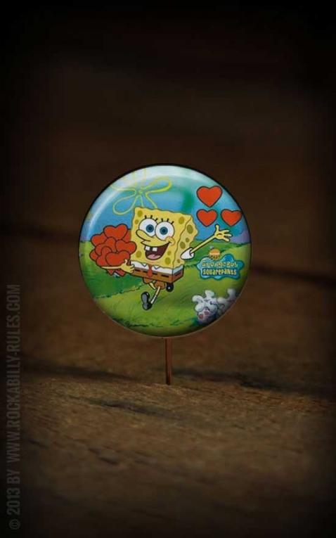 Button Sponge Bob 240