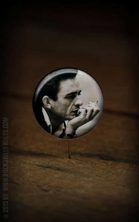 Button Johnny Cash - 277