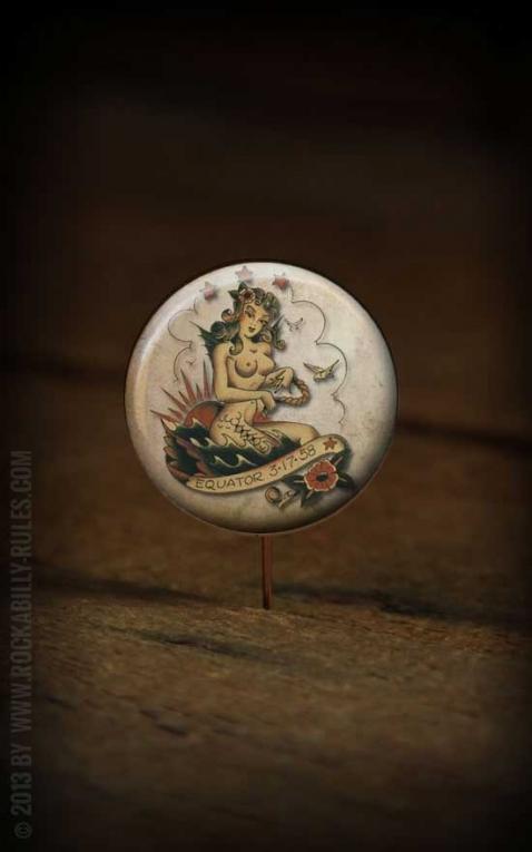 Button Mermaid- 295