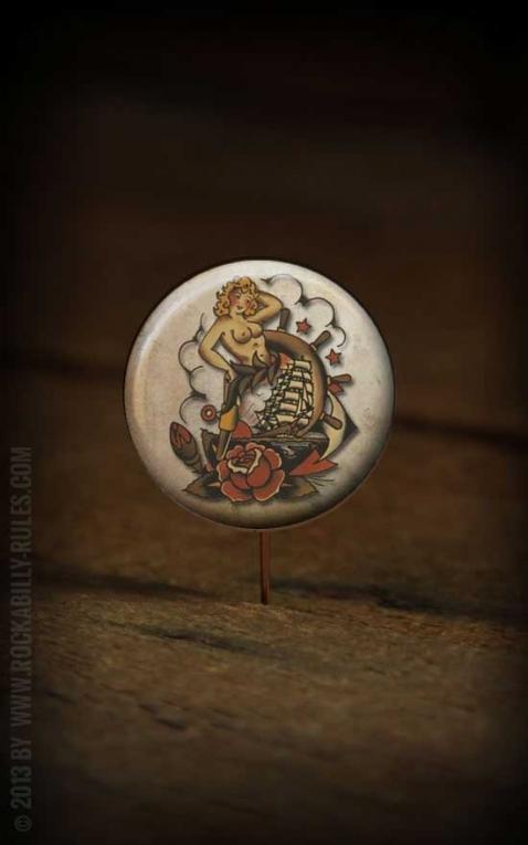 Button Mermaid- 297