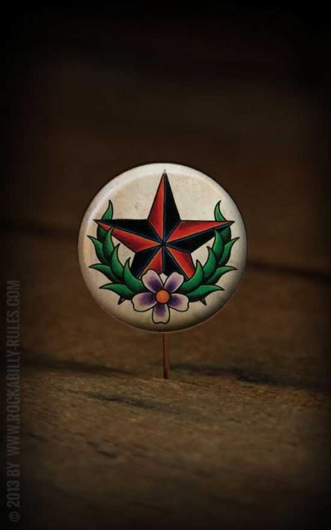 Button Nautical Flower- 312