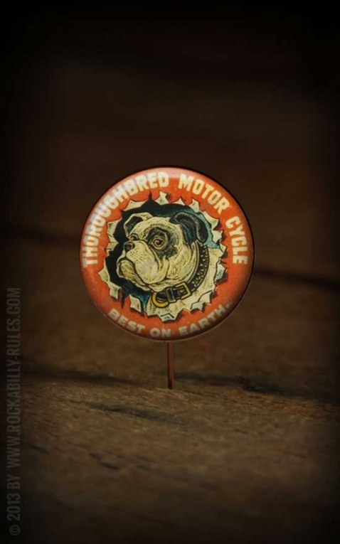 Button - Thoroughbred Motor Cycles - 349