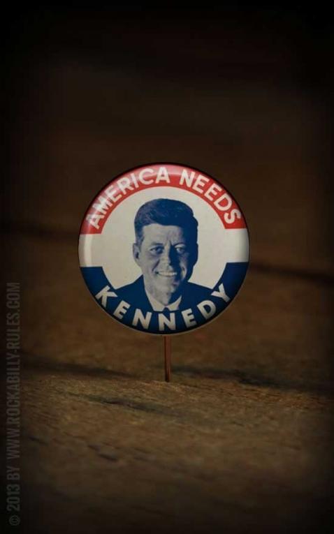 Button - J.F. Kennedy 2 - 355