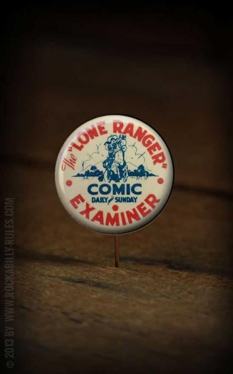 Button - Lone Ranger - 358