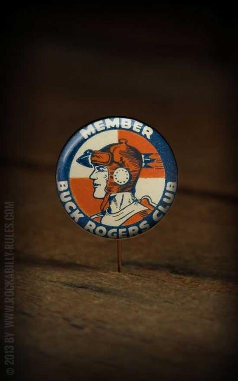 Button - Buck Rogers Club - 365