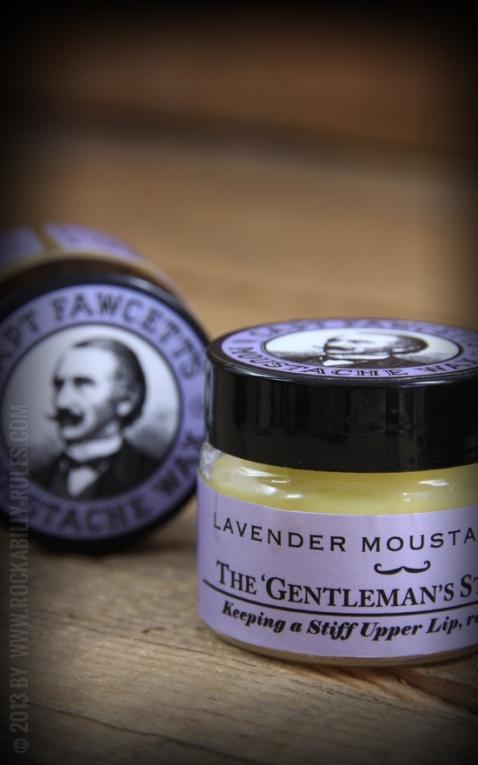 Captain Fawcetts Bartwachs Lavendel