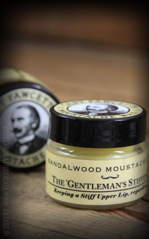 Captain Fawcetts Cire à moustache | Cire à barbe Santal