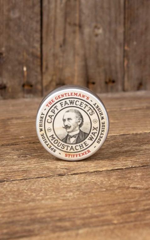 Captain Fawcetts Cire à moustache | Cire à barbe Malt Whisky