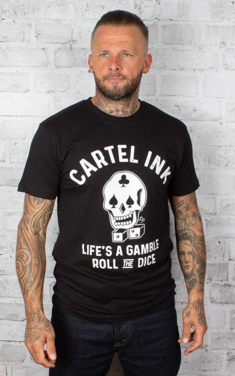Cartel Ink Herren T-Shirt - Roll The Dice