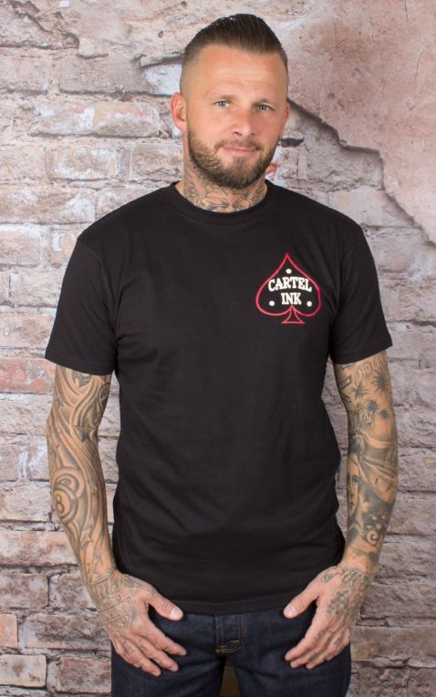 Cartel Ink T-Shirt Hommes - Riding Dirty