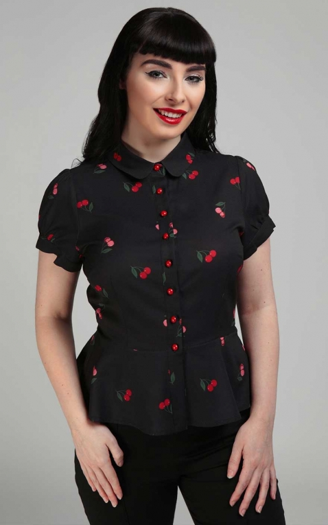 Collectif Chemisiers Mary Grace Cherry Cherry