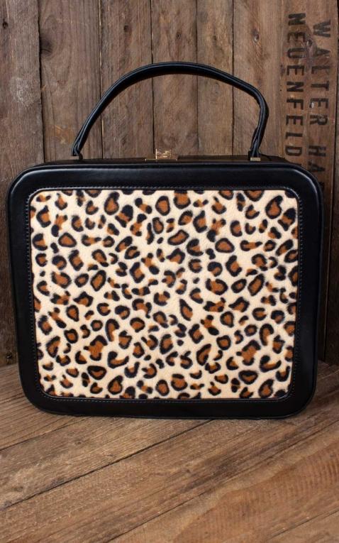 Collectif Handtasche Tasha Leopard Animal Print Bag