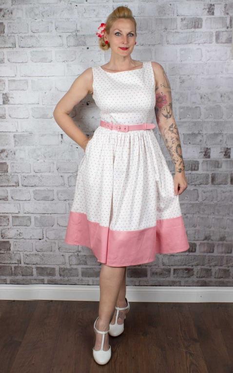 Collectif Kleid Brielle Love Heart Swing