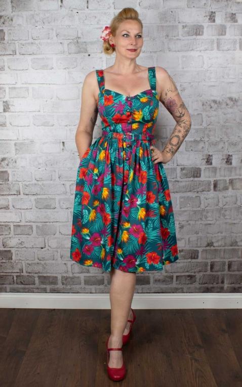 Collectif Robe de Jemima Tropico