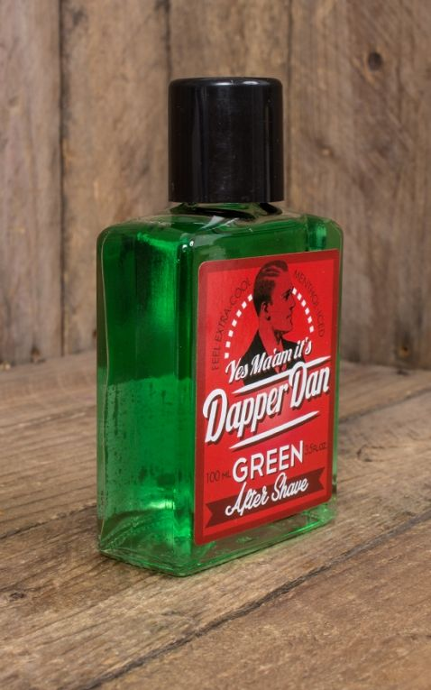 Dapper Dan - After Shave, green